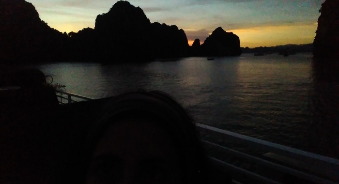 Bai Tu Long Bay_Anocheciendo2...