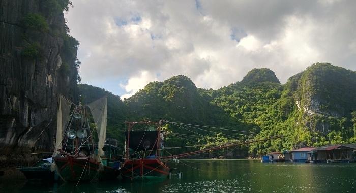 Bai Tu Long Bay_Pueblo de pescadores