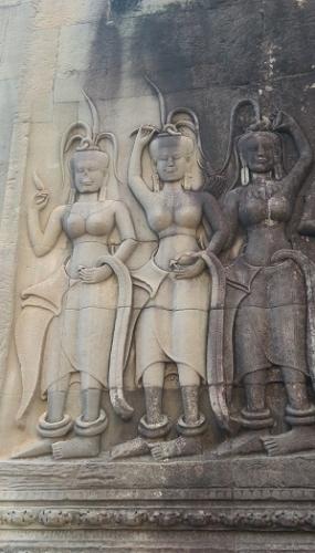 Las bailarinas de Angkor Wat