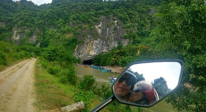 Phong Na_Vista hacia Cueva Phong Na