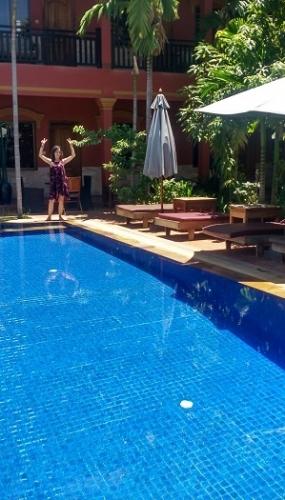 Piscina Siem Reap