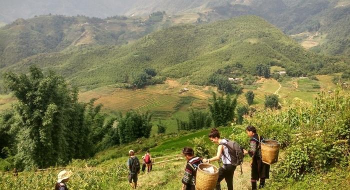 Sapa_Primer dia de trekking