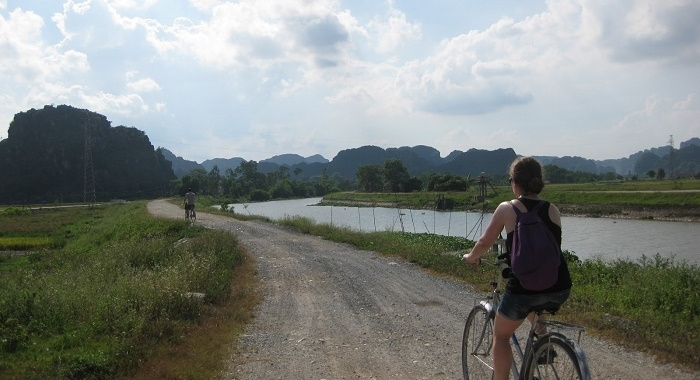 Tam Coc_Comienza la aventura en bici