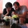 Tam Coc_Gin y Quique planificando
