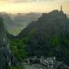 Tam Coc_Vista arrozales y templo desde el mirador