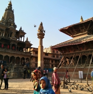 Bye bye India, ¡hola Nepal! Primera parada: Katmandú