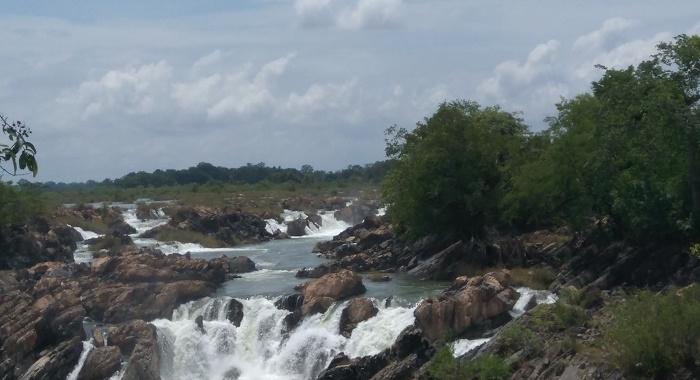 Cataratas Ko Rong (4000 islas Laos)
